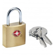 GO Travel  Brass TSA Keylock