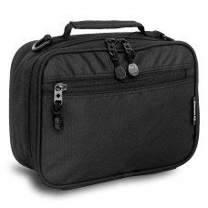 JWORLD CODEY LUNCH BAG BLACK