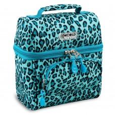 JWORLD COREY LUNCH BAG Leopard