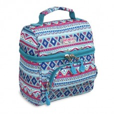 JWORLD Corey Mint Tribal Lunch Bag