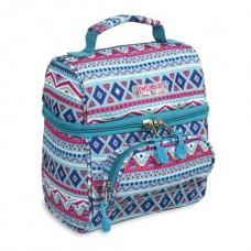 JWORLD Corey Mint Tribal Lunch Bag