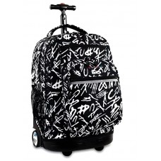 JWORLD SUNSET Rolling BackPack RBS-218 SCRIPT