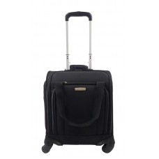 WHEELED UNDERSEATER SMALL SPINNER BLACK