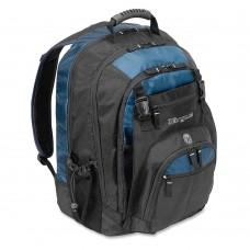 "Targus - Backpack - Mochila modelo XL, Negro/Azul, 17"""