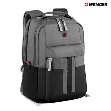 "Wenger , Ero Essential 16"" Laptop BP,Gray/Black"