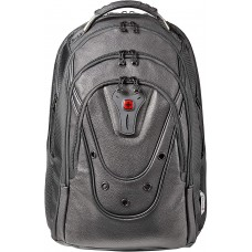 """Wenger , 125th Ibex 17"""" Leather Laptop Backpack"""